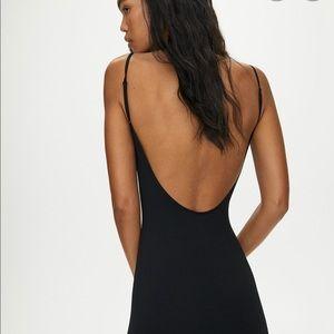Aritzia Open Back Dress